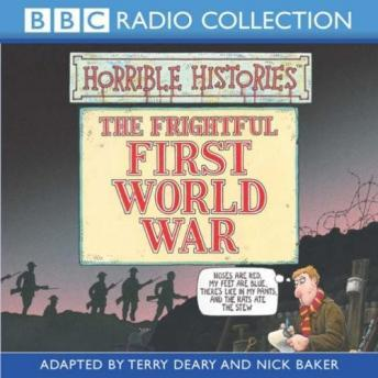 Horrible Histories: The Frightful First World War, Terry Deary, Martin Brown