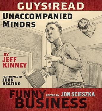 Unaccompanied Minors:  A Story from Guys Read: Funny Business by  Jeff Kinney