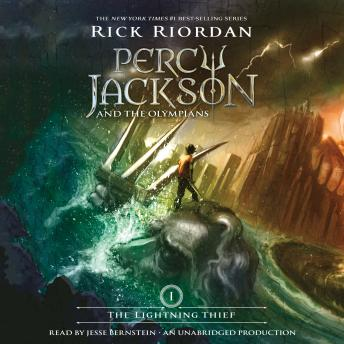 Lightning Thief:  Percy Jackson and the Olympians: Book 1, Audio book by Rick Riordan