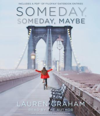 Someday, Someday, Maybe, Lauren Graham