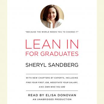 Download Lean In: For Graduates by Sheryl Sandberg