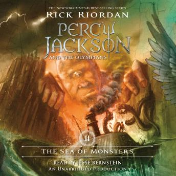 Sea of Monsters: Percy Jackson and the Olympians: Book 2, Rick Riordan