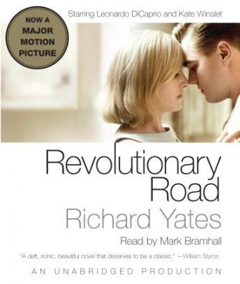 Revolutionary Road by Richard Yates. Book cover for book review. Audiobook cover.
