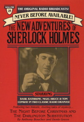 Night Before Christmas and The Darlington Substitution: The New Adventures of Sherlock Holmes, Episode #25