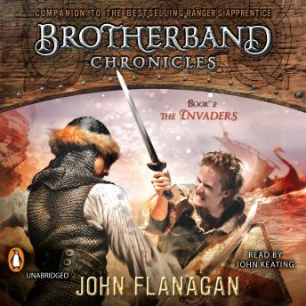 Listen To Invaders Brotherband Chronicles Book 2 By John border=