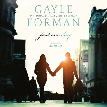 just one day by gayle forman essay A young woman and young man fall in love and lose each in paris allyson is on  a student tour through europe trying hard to hide her lack of enthusiasm and.