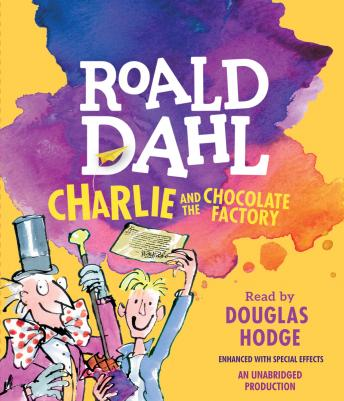 Charlie and the Chocolate Factory, Audio book by Roald Dahl
