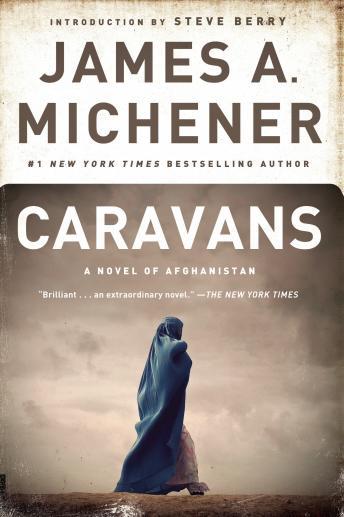 Caravans A Novel by James A. Michener/ HC w/ DJ BCE Random House-1963