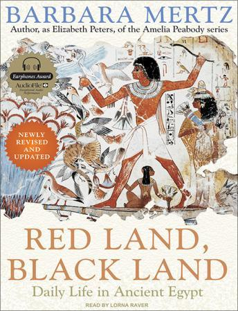 Download Red Land, Black Land: Daily Life in Ancient Egypt by Barbara Mertz