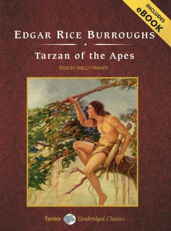 Tarzan of the Apes [With eBook] by  Edgar Rice Burroughs