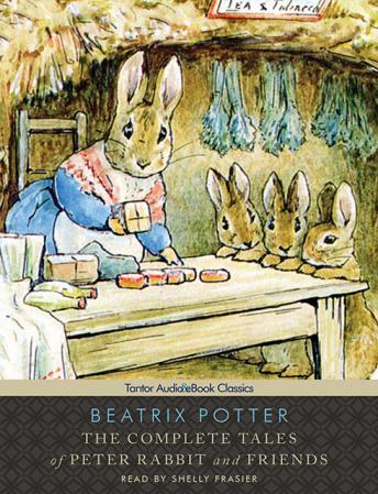 Complete Tales of Peter Rabbit and Friends [With eBook] by  Beatrix Potter