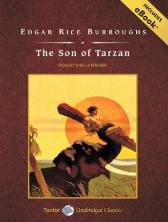 Son of Tarzan [With eBook] by  Edgar Rice Burroughs