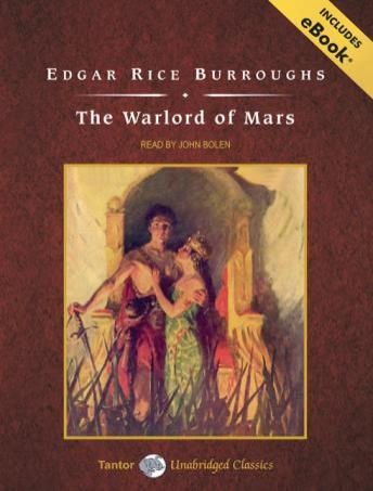 Warlord of Mars [With eBook] by  Edgar Rice Burroughs