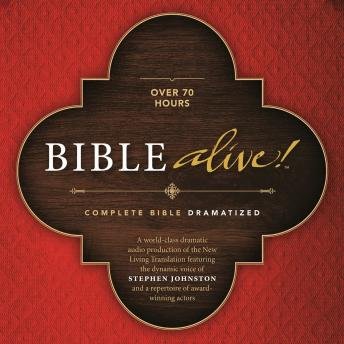 Free Bible Alive! Audiobook read by Stephen Johnston