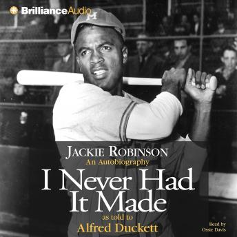 Download I Never Had It Made by Jackie Robinson