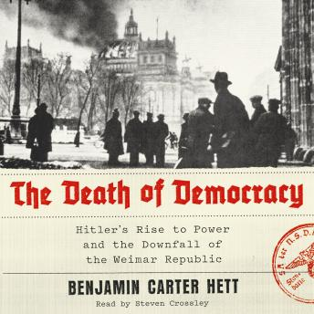 Download Death of Democracy: Hitler's Rise to Power and the Downfall of the Weimar Republic by Benjamin Carter Hett