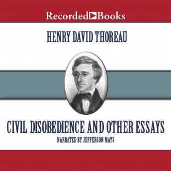 Civil Disobedience: And Other Essays