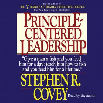 Free Principle-Centered Leadership Audiobook read by Stephen R. Covey