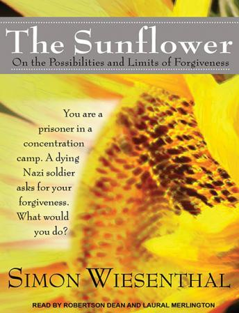 simon wiesenthal sunflower essay Morals and forgiveness in simon wiesenthal's the sunflower essay 1584 words | 7 pages in simon wiesenthal's the sunflower, he recounts his incidence of meeting a dying nazi soldier who tells simon that he was responsible for the death of his family upon telling simon the details, karl asks for his forgiveness for what he helped accomplish.