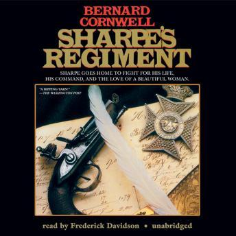 Free Sharpe's Regiment: Richard Sharpe and the Invasion of France, June to November 1813 Audiobook read by Frederick Davidson