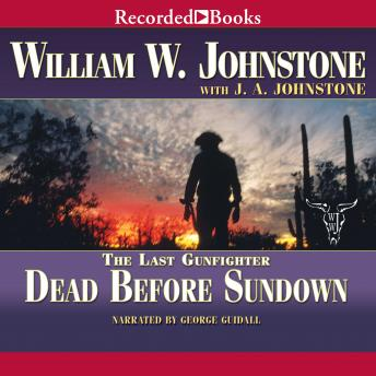 Free Dead Before Sundown Audiobook read by George Guidall
