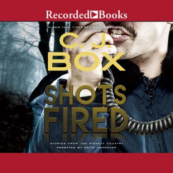 Shots Fired: Stories from Joe Pickett Country by C.J. Box (English) MP3 CD Book