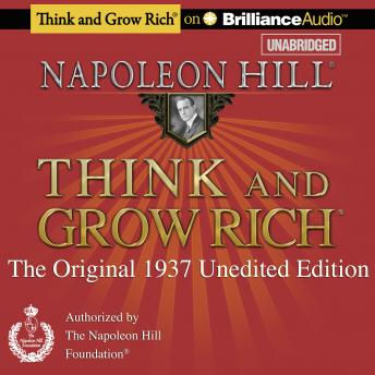 Free Think and Grow Rich (1937 Edition) Audiobook read by Fred Stella
