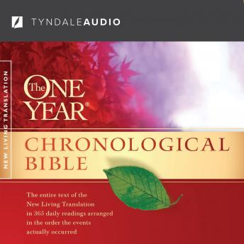 Listen To One Year Chronological Bible Nlt By Various border=