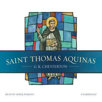 Saint Thomas Aquinas by  G. K. Chesterton