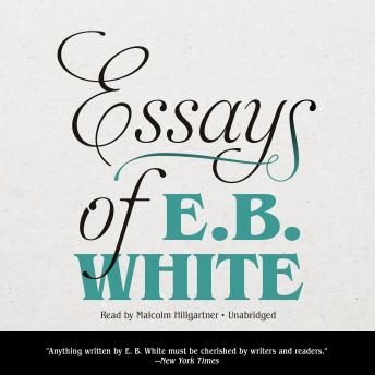 eb white death of a pig essay Get an answer for 'i have been asked to, specifically, examine the diction of 'death of a pig' by e b white are there any word choices made that particularly.