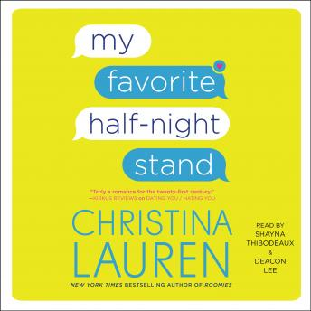 My Favorite Half-Night Stand, Audio book by Christina Lauren