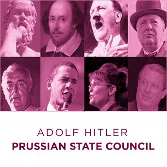 Download Prussian State Council Adolf Hitler Speech by Adolf Hitler