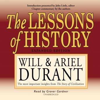 Download Lessons of History by Will Durant, Ariel Durant