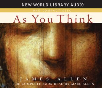 As you think audio book by james allen | audiobooks. Net.