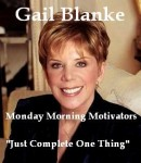 Free Just Complete One Thing Audiobook read by Gail Blanke