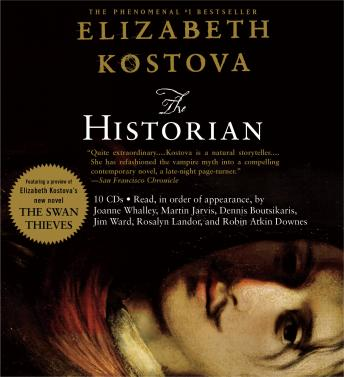 Listen To Historian By Elizabeth Kostova At Audiobooks Com