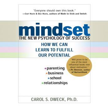 Download Mindset: The New Psychology of Success by Carol Dweck