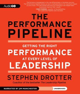 Free Performance Pipeline: Getting the Right Performance at Every Level of Leadership Audiobook read by Jim Manchester
