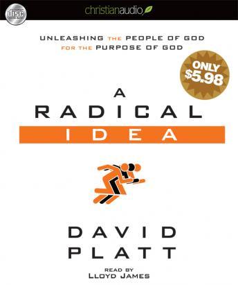 Radical Idea: Unleashing the People of God for the Purpose of God by  David Platt