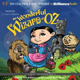 Download Wonderful Wizard of Oz by L. Frank Baum and Jerry Robbins