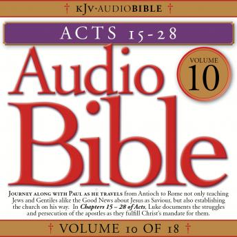 Free Audio Bible, Vol 10: Acts 15-28 Audiobook read by Bruce Bayley Johnson