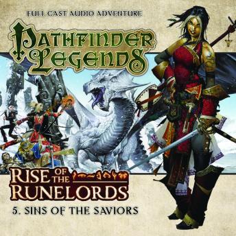 Free Rise of the Runelords 1.5 Sins of the Saviors Audiobook read by Trevor Littledale, Ian Brooker, Stewart Alexander, Kerry Skinner