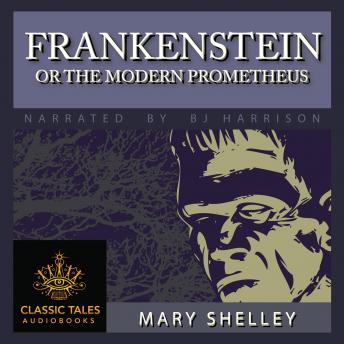 listen to frankenstein or the modern prometheus by shelley at audiobooks