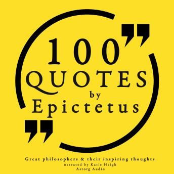 Download 100 quotes by Epictetus by