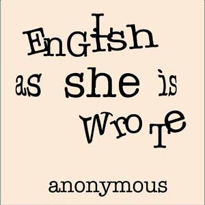 Download English as She is Wrote by Anonymous