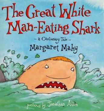 Great white man-eating shark, the