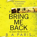 Bring Me Back Audiobook