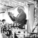 J Krishnamurti Madras January 3rd 1984 7.30 am1st Krishnamurti Madras  3rd jan 1984 7.30 a