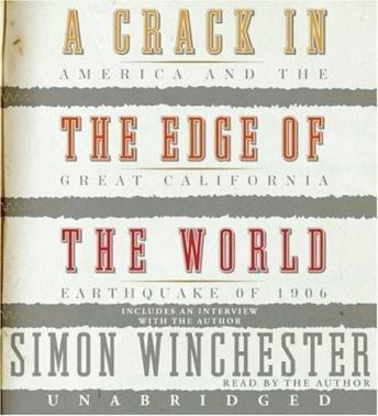 Download Crack in the Edge of the World by Simon Winchester