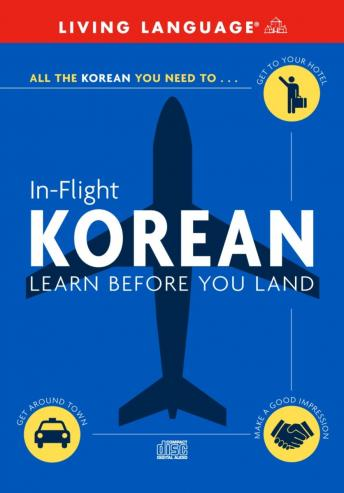 In-Flight Korean, Living Language (audio)